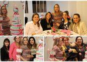 Uma tarde charmosa e alegre: chá de bebê da Maria Julia