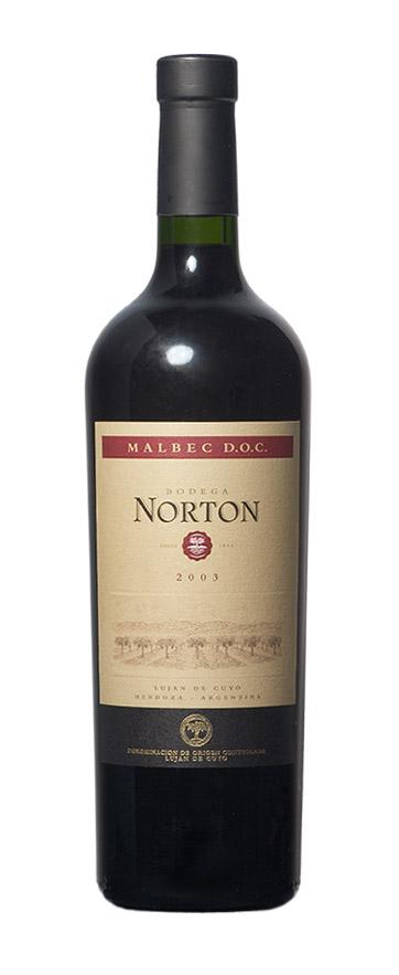 Norton DOC Malbec 2003