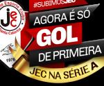 E o JEC – Joinville Esporte Clube, chegou a série A….