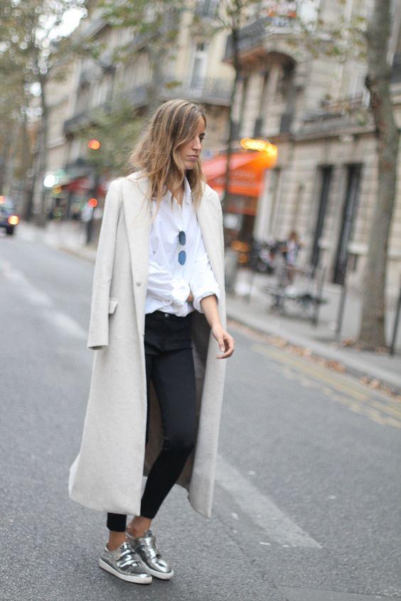Metalize-se!! Silver shoes .... #trendalert