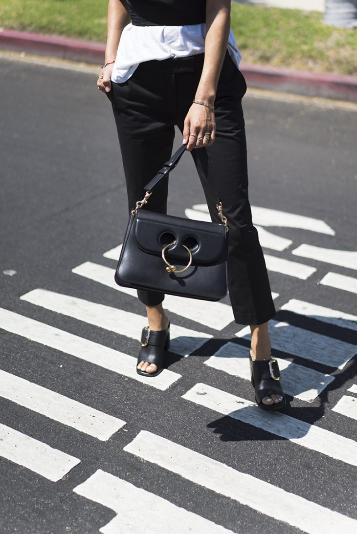 aimee_song_of_style_ministry_of_style_black_bustier_two_songs_amour_tee_black_trousers_mules