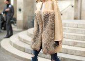 Trend alert: casacos de pele sintética coloridos